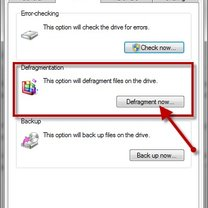 defragmentacja dysku w windows 7