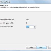 tworzenie partycji w windows 7 - krok 7