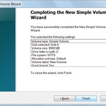tworzenie partycji w windows 7 - krok 10