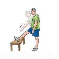 Ćwiczenia na dolny odcinek kręgosłupa krok 1