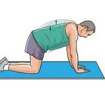 Ćwiczenia na dolny odcinek kręgosłupa krok 2
