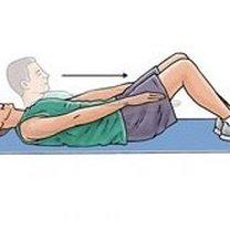 Ćwiczenia na dolny odcinek kręgosłupa krok 5