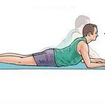 Ćwiczenia na dolny odcinek kręgosłupa krok 7