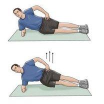 Ćwiczenia na dolny odcinek kręgosłupa krok 8