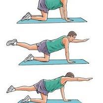 Ćwiczenia na dolny odcinek kręgosłupa