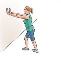 Ćwiczenia na zapalenie ścięgna Achillesa krok 2