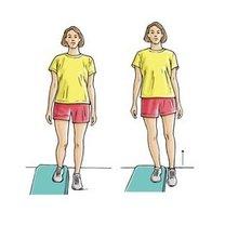 Ćwiczenia na zapalenie ścięgna Achillesa krok 5