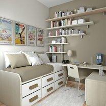 przykładowa aranżacja małego pokoju