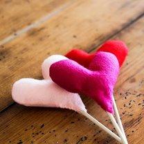serce na piku na Walentynki
