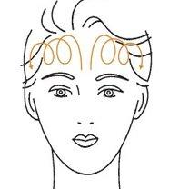 masaż twarzy - krok 1