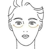 masaż twarzy - krok 3
