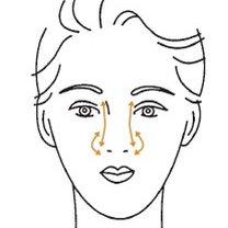 masaż twarzy - krok 4
