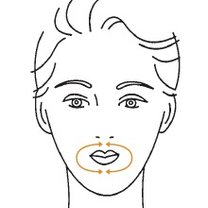 masaż twarzy - krok 5