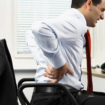 ból pleców w pracy