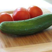 pomidor i ogórek