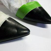 Malowanie czubków krok 2