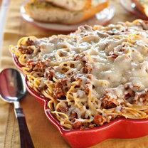 zapiekanka spaghetti