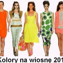 kolory na wiosnę 2012