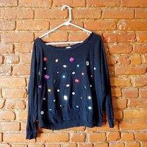 sweterek z kryształkami