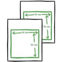 Robienie ramki z papieru 1