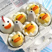 Kurczaki wielkanocne z jajek