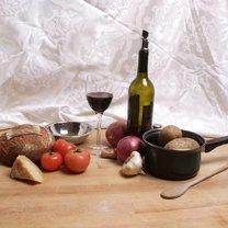 Kolacja z winem