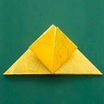 Motyl origami krok 5