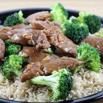 Brokuły z wołowiną z woka po chińsku