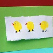 Kartka z kurczaczkiem krok 7