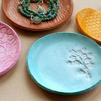 talerze z gliny