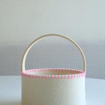 Koszyk wielkanocny z filcu krok 12