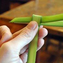 krzyż z palmy - krok 8
