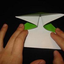 Żaba origami krok 5