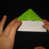 Żaba origami krok 6
