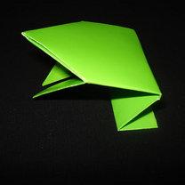 Żaba origami krok 16