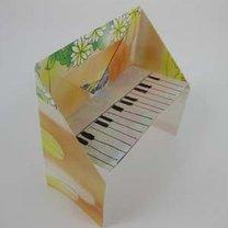fortepian origami