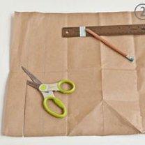 koszyczek z papieru - krok 2