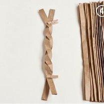 koszyczek z papieru - krok 4