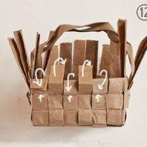 koszyczek z papieru - krok 12