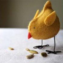 Kurczaczek z filcu krok 15