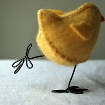 Kurczaczek z filcu krok 16