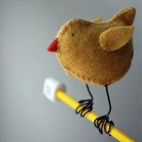 Kurczaczek z filcu krok 17