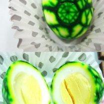 farbowane jajka