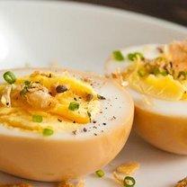 Jajka w sosie sojowym