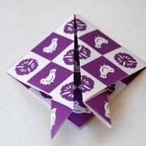 Zajączek origami krok 4