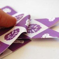 Zajączek origami krok 7
