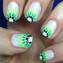 paznokcie z kiwi