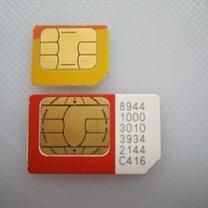 Przycinanie karty sim do iPhone 1