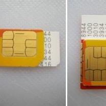 Przycinanie karty sim do iPhone 5