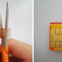 Przycinanie karty sim do iPhone 6